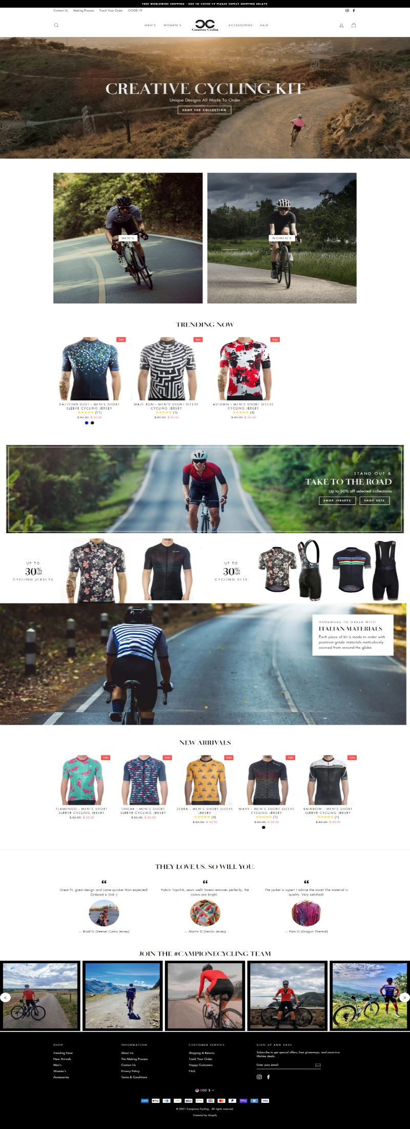 campionecycling.com
